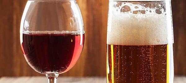 Vin vs bière