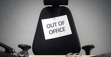 absent du bureau